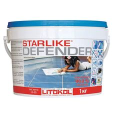 затирка LitoCHROM Starlike Defender C.300  1,0 кг  PIETRA