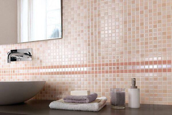 Плитка мозаика для ванной: выбор дизайна и технологии укладки
