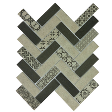 Керамическая мозаика Tweed Gray